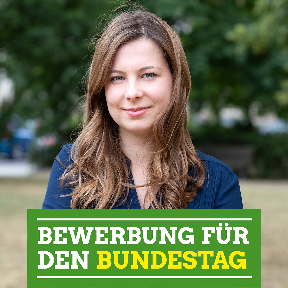 Kandidatur für die Bundestagswahl